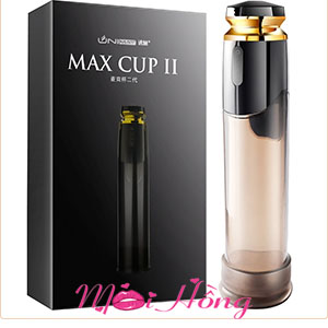 Máy tập dương vật tự động sạc pin Max Cup II
