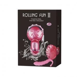 Máy liếm và rung âm đạo cao cấp Rolling Fun II