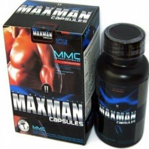 Thuốc tăng cường sinh lý nam giới Maxman II 60 viên