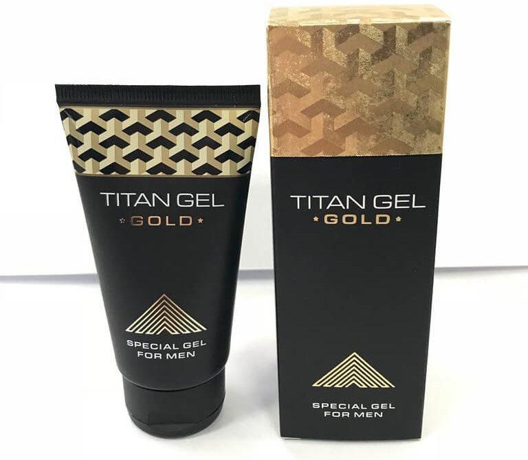 Gel cường dương và tăng kích thước cậu nhỏ Titan Gold
